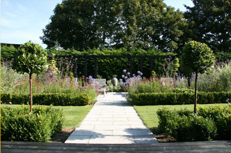 Jill Fenwick garden design creates inspired gardens for clients in Surrey,