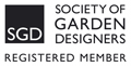 Jill Fenwick a registered member of the Society of Garden Designers. UK's only professional garden design organisation.