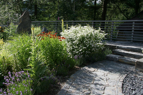 Sustainable organic garden design for Sustainable garden design